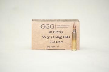 223REM GGG FMJ 55GR