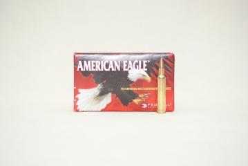 223REM AMERICAN EAGLE FMJ 55GR