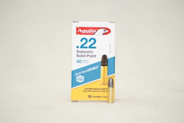 22LR AGUILA SUBSONIC SOLID